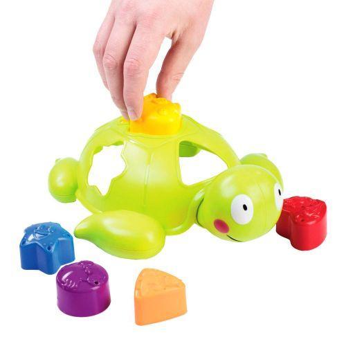 """Игрушка для ванной """"Черепашка - сортер""""  scs"""