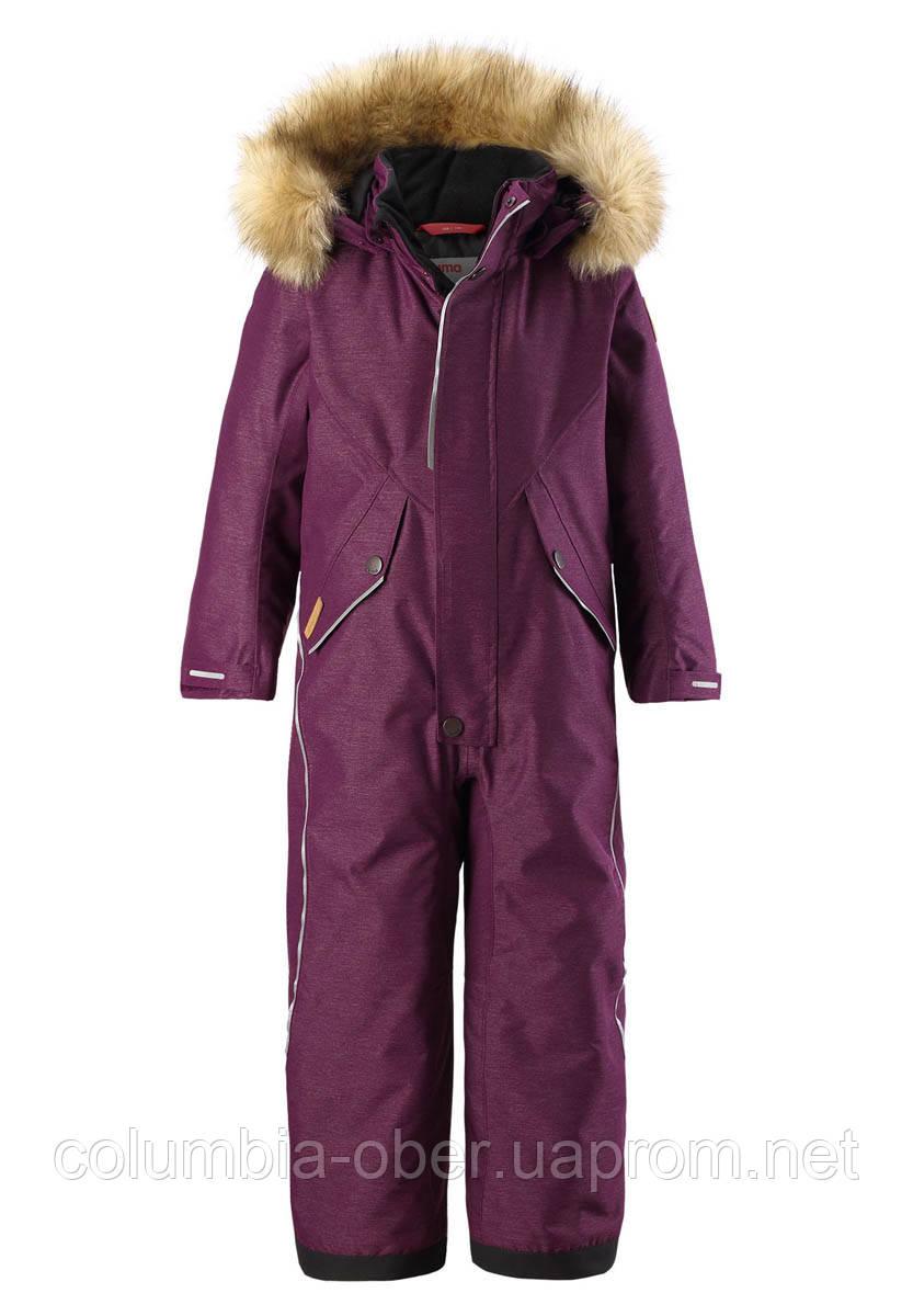 Зимний комбинезон для девочки Reimatec Vuoret 520259-4960. Размеры 92 - 140.