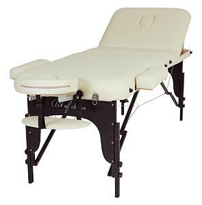 Массажная переносная Кушетка для массажа Массажный стол портативный 3-х секционный RAF