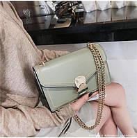 Модные молодежные сумки женские с цепочкой через плечо