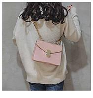 Небольшие сумки через плечо женские цвет черный коричневый розовый