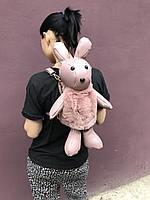 Кожаный рюкзак сумка Кролик Заяц 45см, фото 1