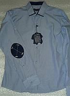 Рубашка с налокотниками, одежда для мальчиков 116-146