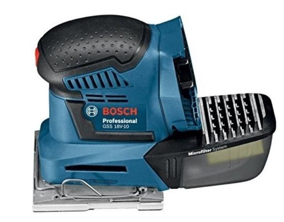 Орбитальный шлифовальный станок Bosch GSS 18 V-10 (solo)