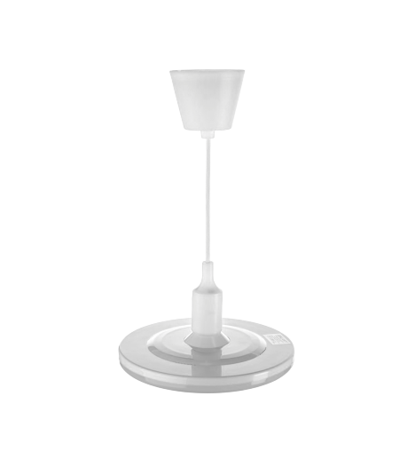 Світильник LED дизайн. підвісний 24W 4200K R-220mm білий UFO RADUGA (20шт/ящ) ТМ LUMANO (12міс.гар)
