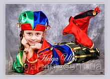 """Карнавальний, новорічний костюм """"Блазень"""", """"Скоморох"""". ПРОКАТ у Львові"""