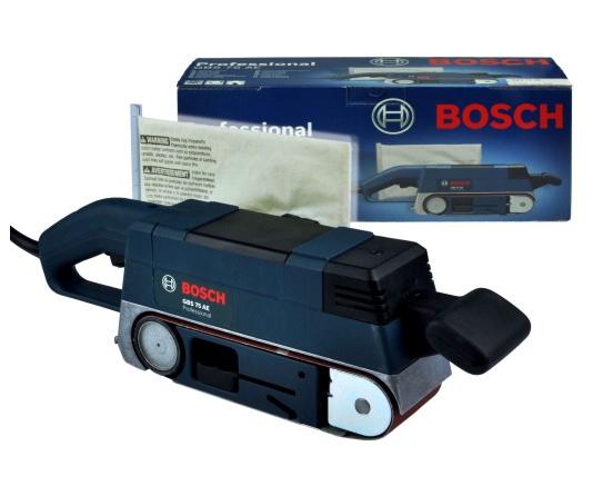 Ленточно-шлифовальный станок Bosch GBS 75 AE