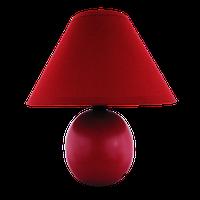 Настольна лампа-торшер дизайнерська SANDRO 40W E27 IP20 червона (48шт/ящ) TM LUMANO