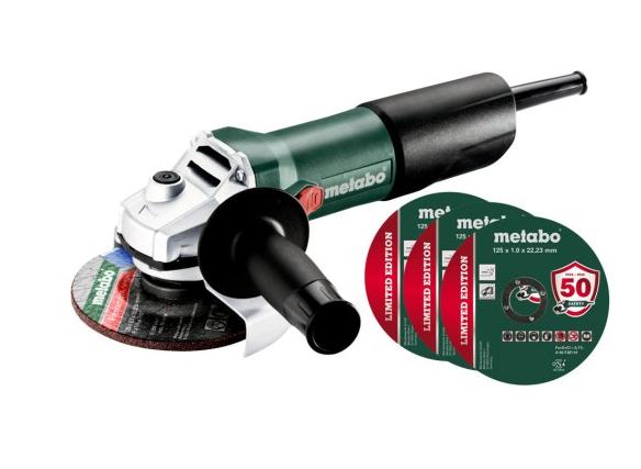 Угловая шлифовальная машина Metabo W 850-125