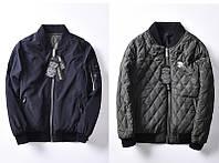 Двусторонняя теплая удобная демисезонная  мужская куртка Moncross