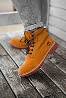 Женские ботинки Timberland из натуральной кожы (ДЕМИСЕЗОН), фото 1