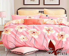 Двуспальный комплект постельного белья с компаньоном R7414