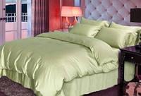 Набор постельного белья Сатин ROYAL Комплект постельного белья OLIVE полутороспальный, евро, двуспальный