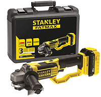 Набор STANLEY  шлифовальный станок 18 В с двумя аккумуляторами 4,0 Ач Li-ion FMC761M2 + отвертка FMC625B