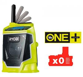 Радиоприемник аккумуляторный Ryobi ONE + R18R-0