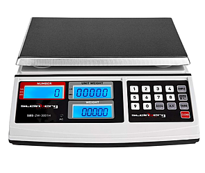 Весы 30 кг Steinberg Systems SBS-ZW-3001H