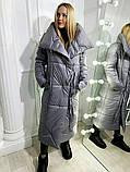 Куртка женская зимняя. Цвет: хаки, чёрный, розовый, серый , красный, фото 5