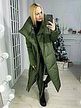 Куртка женская зимняя. Цвет: хаки, чёрный, розовый, серый , красный, фото 3