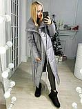 Куртка женская зимняя. Цвет: хаки, чёрный, розовый, серый , красный, фото 2