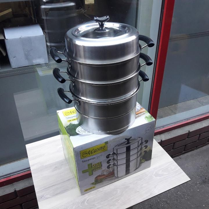 Мантоварка MAESTRO MR 2900-28 корпус нержавіюча сталь діаметр 28 см