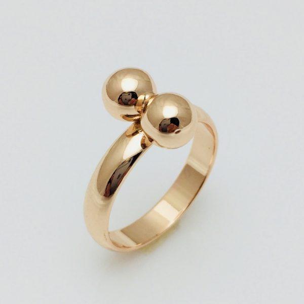 Кольцо Поцелуйчик, размер 15