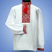 Вишиванка для хлопчика (з червоно-чорною вишивкою) 42dff7e79e671