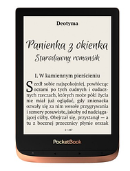 Электронная книга POCKETBOOK Touch HD 3 (632) Коричневый