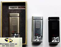Подарочная зажигалка Jobon 4084 Стильный подарок другу Оригинальная идея подарка Аксессуар для любителей сигар