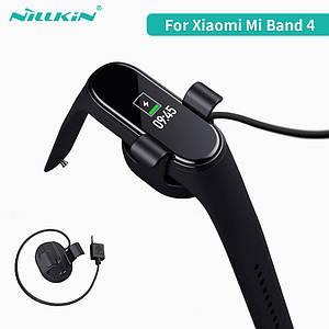 Зарядное устройство Nillkin SJ005 для Xiaomi Mi Band 4 (Черное, 0.3м)