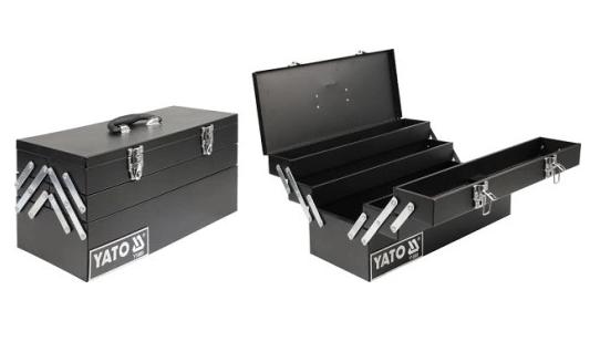Ящик для инструментов 460 х 200 х 225 мм Yato YT-0885
