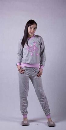 Женская теплая пижама, фото 2