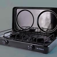 Кухонная плита газовая ПГ2-Н с крышкой