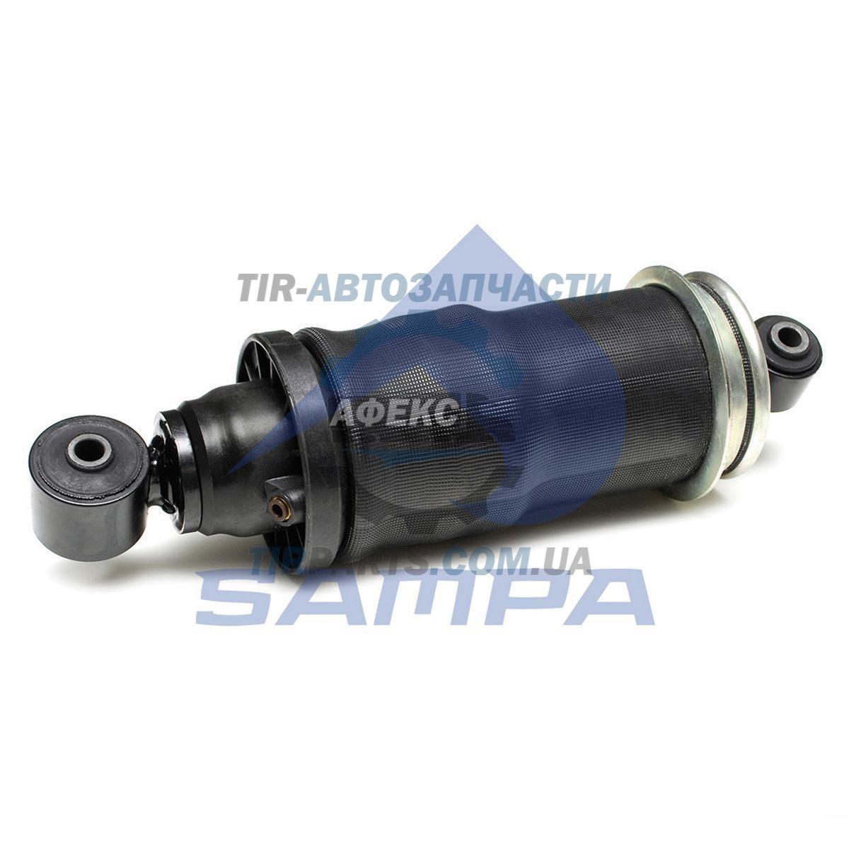 Амортизатор кабины с пневмобаллоном задний в сборе MAN TGA / TGS / TGX F99L / R 15,F99L / R 32-37,F99L / R 40