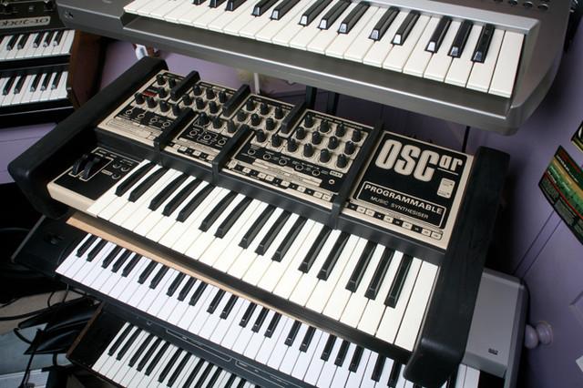 Синтезаторы-большое количество возможностей в одной коробке.