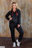 Утепленный спортивный костюм с начесом размеры 50-56 арт 037
