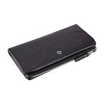 Мужской кожаный кошелек-клатч Boston B4-019 Black, фото 2
