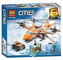 """Конструктор Bela Cities 10994 """"Арктический вертолёт"""" (аналог Lego City 60193), 289 деталей"""