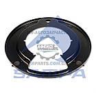 Защита / пыльник колодок тормозного барабана 410x125 Volvo F10 / 12, FL6 / 7 / 10 / 12, FH12 / 16 (1629832 | 030.214)