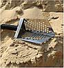 Пляжний совок (скупий) Scoop triangle ➜товщина 1.5 мм ➜отвір 7мм ➜розмір 100×140 мм, фото 2