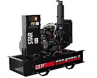 Трехфазный дизельный генератор Genmac Star G130POA (143 кВа)