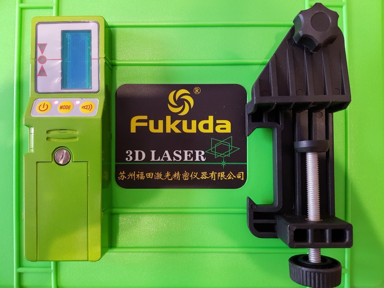 100-150 метрів! СУПЕР Приймач FUKUDA FD-9G для лазерного нівеліра зелений промінь