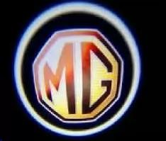 Проекция логотипа автомобиля MG