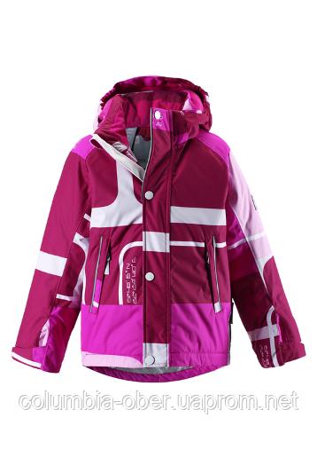 Зимняя куртка для девочек Reimatec Zosma 521360 - 4614. Размер 104-140.