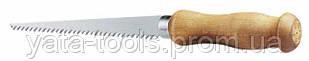 Ножовка по гипсокартону STANLEY,узкая с деревянной рукояткой