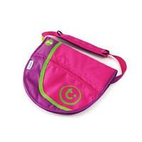 Детская сумка-седло на ремне Trunki розово-фиолетовая 0177