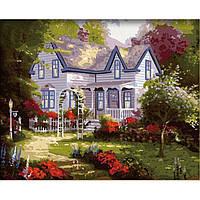 Картины по номерам - Усадьба весной