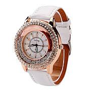 Наручные часы женские с кристаллами код 109