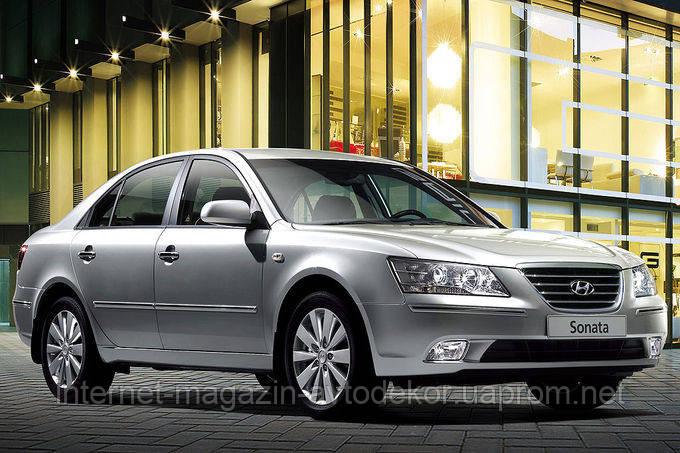 Брызговики Hyundai Sonata NF 2004-2010 г. (AVTM)