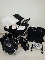 Детская коляска для двойни Bugaboo Donkey Twin Black&White Бугабу