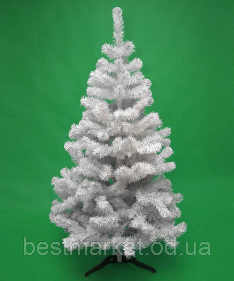 Искусственная Белая Елка 1,20метра (120см) Ель Новогодняя